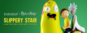 Rick and Morty Slippery Stair Art Figure by Kidrobot x Adult Swim