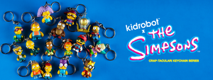 Kidrobot x The Simpsons Craptacular Keychains