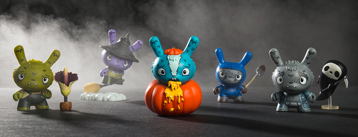 Kidrobot Scared Silly Halloween Dunny Series by The Bots - Kidrobot.com