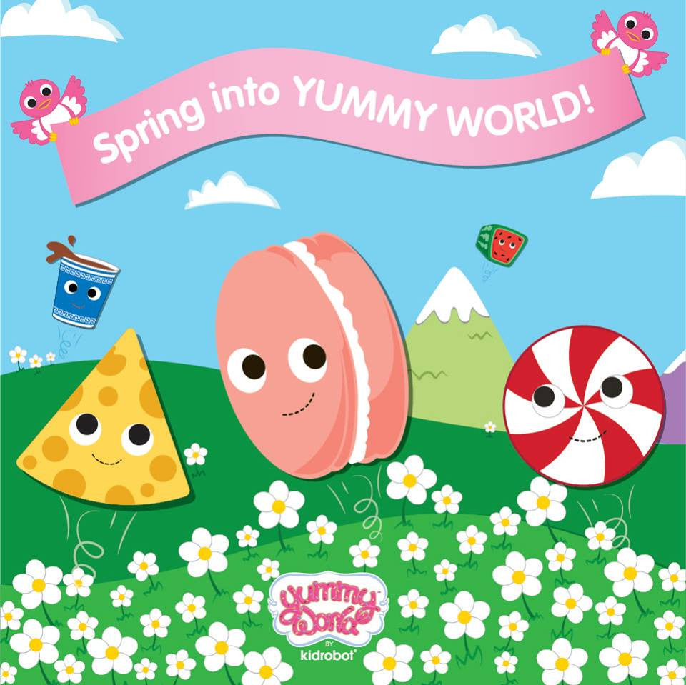 Spring Into Yummy World with 20% OFF
