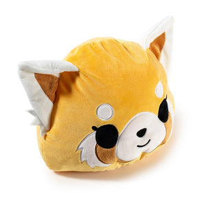 Aggretsuko Reversible Medium Plush by Kidrobot x Sanrio - Kidrobot - Designer Art Toys