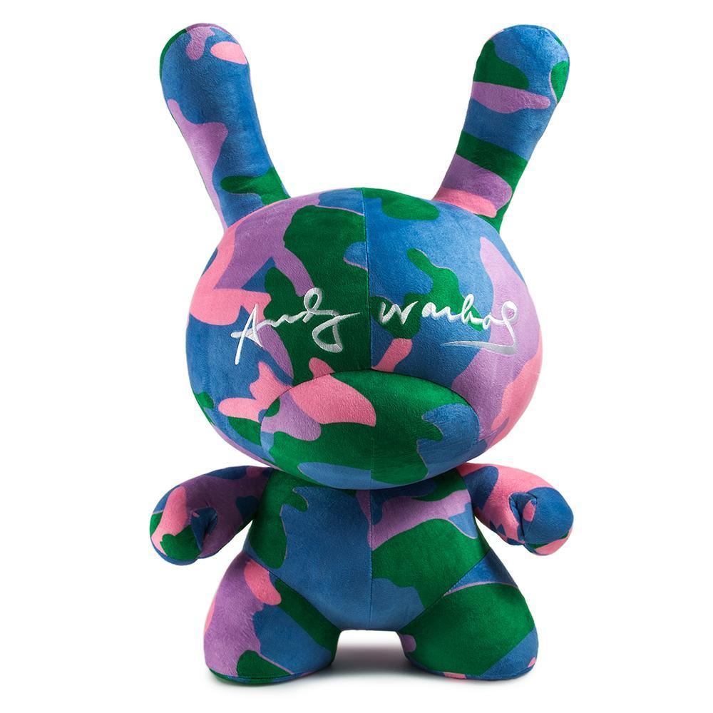 "100% Polyester - Andy Warhol 20"" Camo Dunny Plush"
