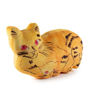 Andy Warhol Yellow Sam the Cat Plush by Kidrobot - Kidrobot - Designer Art Toys