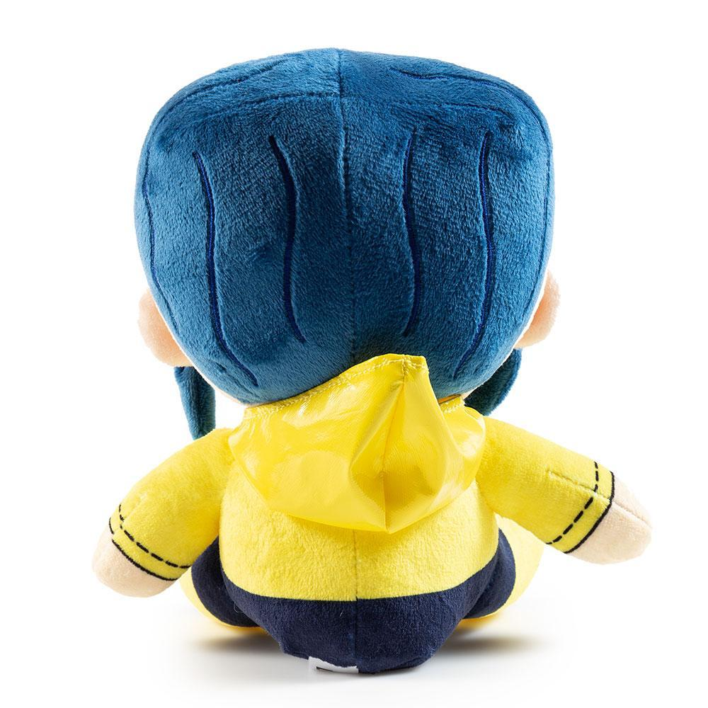 Coraline with Button Eyes Phunny Plush by Kidrobot - Kidrobot - Designer Art Toys