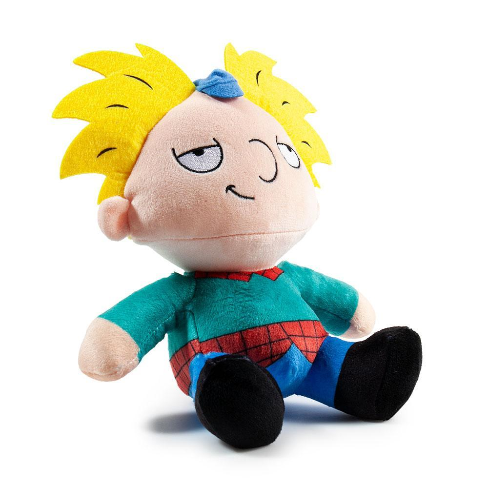 100% Polyester - Hey Arnold Plush Toy - Nick 90s Phunny Plush