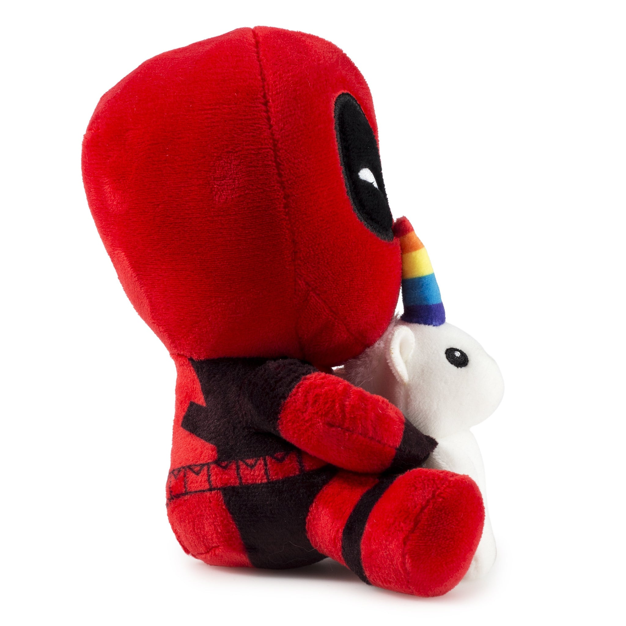 100% Polyester - Marvel Deadpool Riding A Unicorn Plush