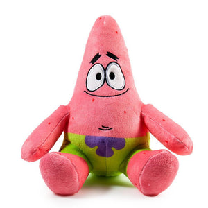 Patrick Star Stuffed Animal Plush - Kidrobot x Nickelodeon - Kidrobot - Designer Art Toys