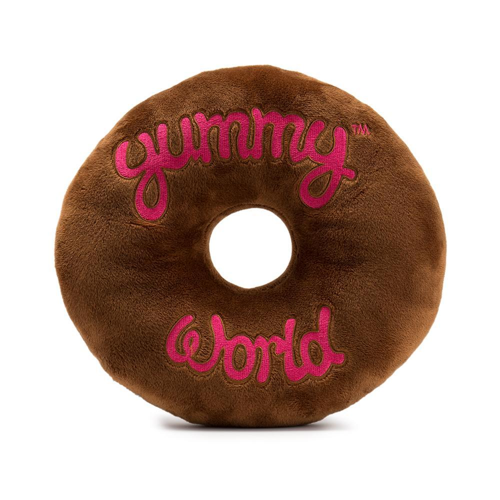 100% Polyester - Yummy World Ben Chocolate Donut Plush