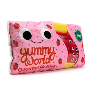 Yummy World Breezy and the Twists Licorice Candy Plush - Kidrobot - Designer Art Toys