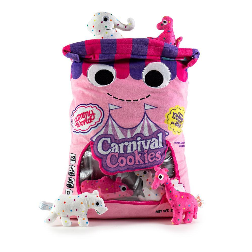 100% Polyester - Yummy World Chloe And The Carnival Cookies XL Plush
