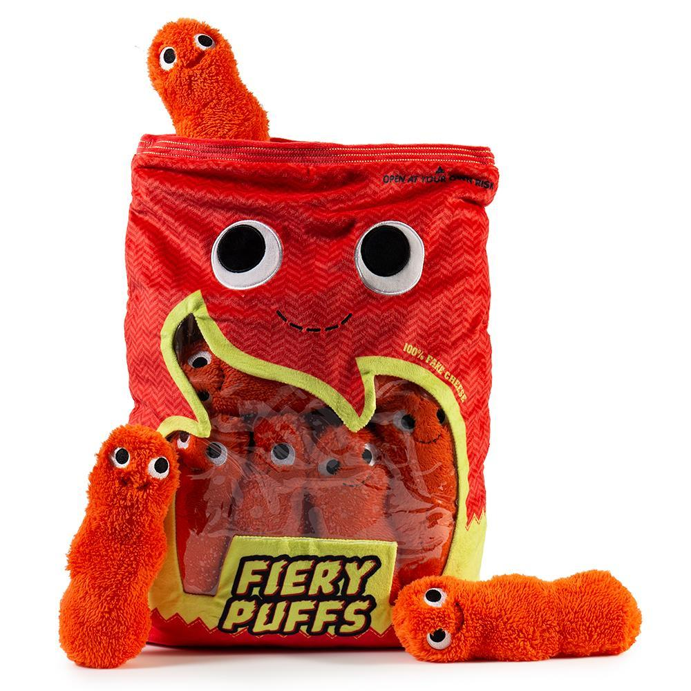 Yummy World Fiery Puffs XL Plush by Kidrobot - Kidrobot - Designer Art Toys