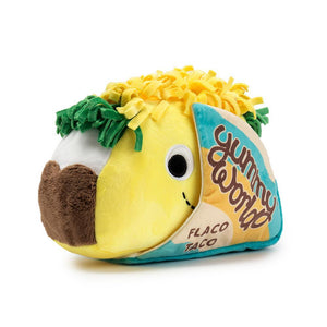 "100% Polyester - Yummy World Flaco Taco 10"" Plush"