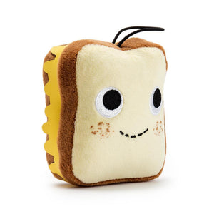 100% Polyester - Yummy World Gary Grilled Cheese Sandwich Plush