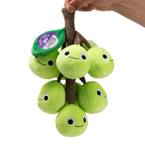 100% Polyester - Yummy World Grady Grape Bunch Plush