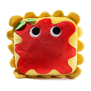 100% Polyester - Yummy World Large Al Dente Ravioli Plush Pillow