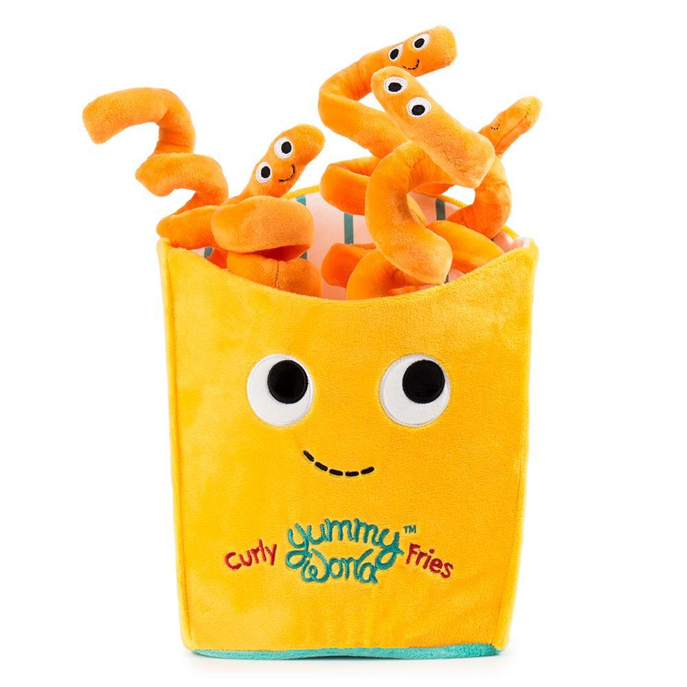100% Polyester - Yummy World Large Curly Fries Plush