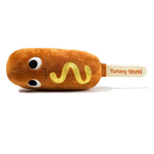 100% Polyester - Yummy World Medium Corn Dog Plush