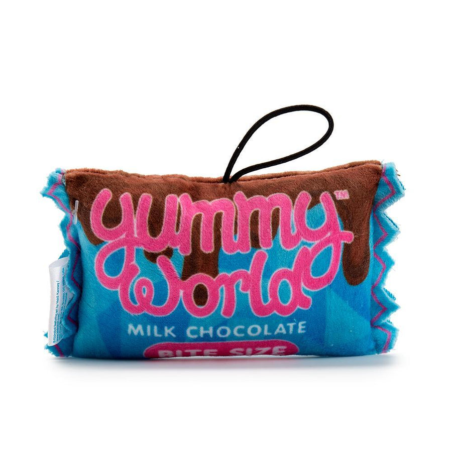 "100% Polyester - Yummy World Mika Mini Chocolate Candy Bar 4"" Plush"