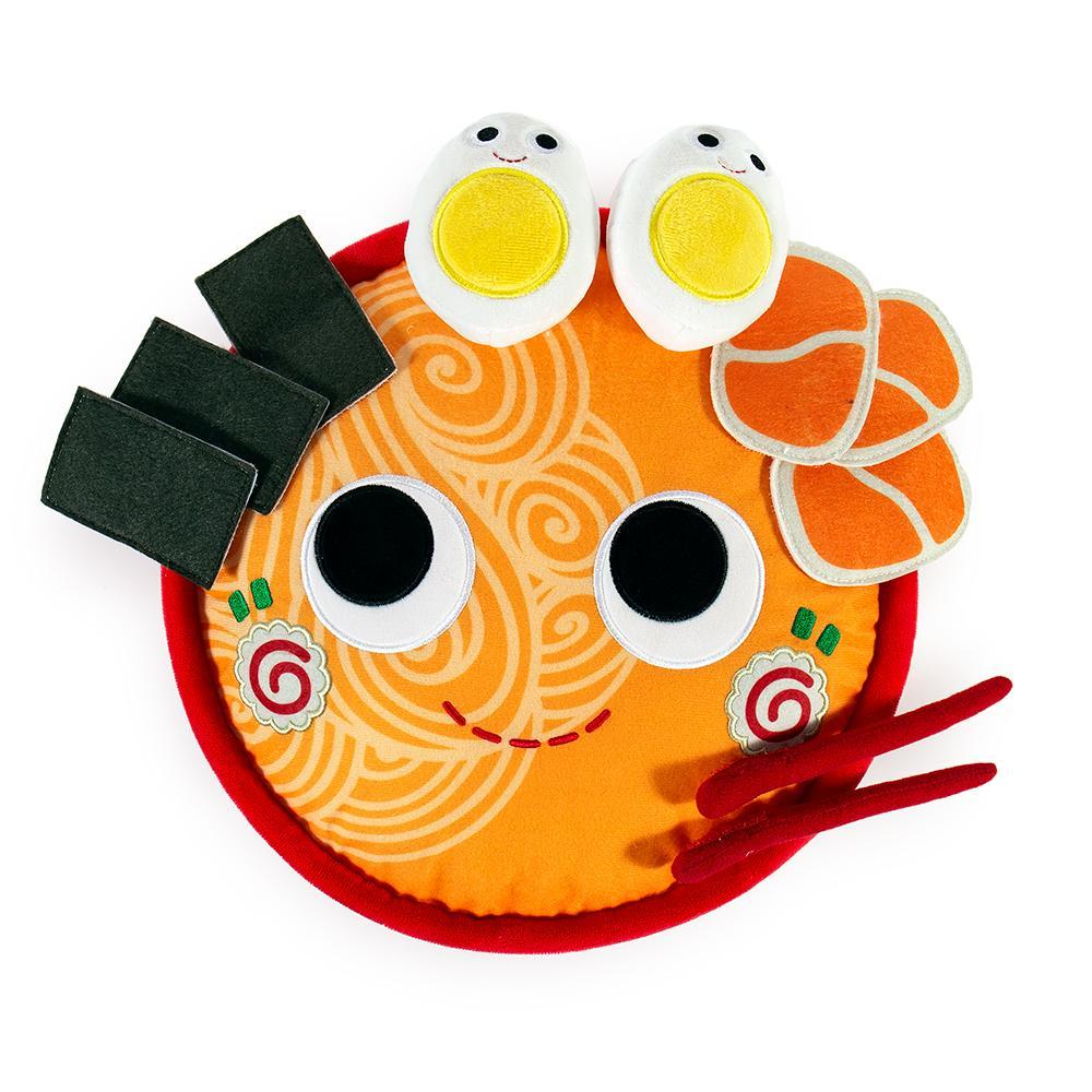 100% Polyester - Yummy World Nicole The Ramen Bowl Plush