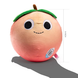 Yummy World Penelope Peach Food Plush by Kidrobot - Kidrobot - Designer Art Toys