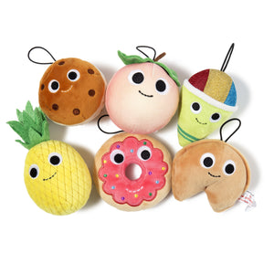 Yummy World Small Peach Plush Ornament - Kidrobot - Designer Art Toys