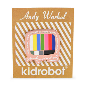 Andy Warhol Pop Art Collection Dunny Box One by Kidrobot (PRE-ORDER) - Kidrobot