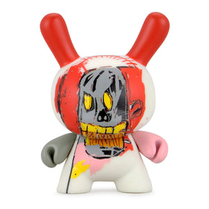 Jean-Michel Basquiat Faces Dunny Art Figure Series 2 by Kidrobot - Kidrobot - Designer Art Toys