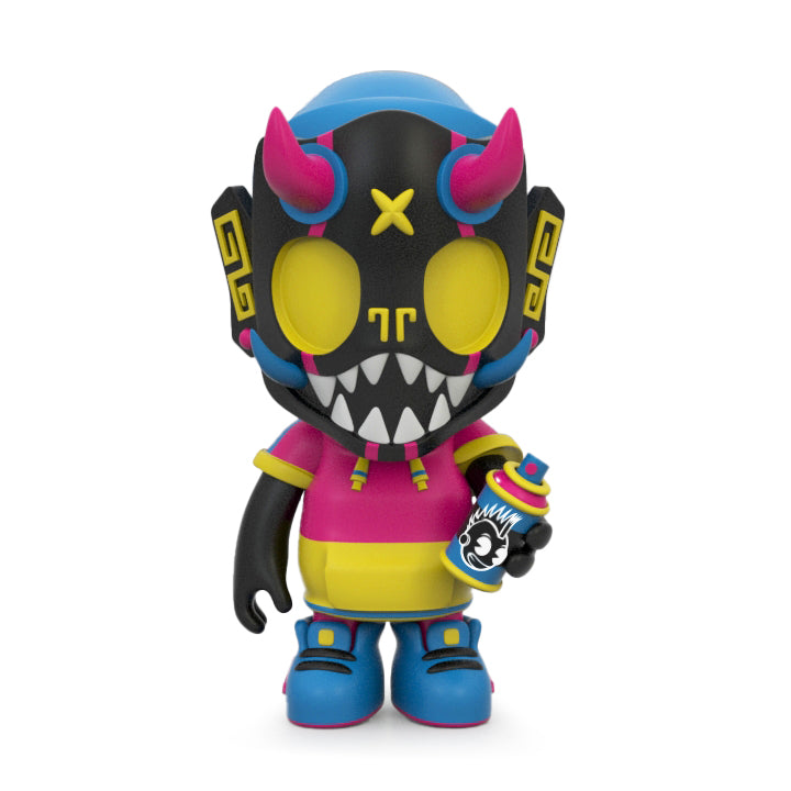 Puck Little Painter Vinyl Figure by Chris Dokebi - Kidrobot Edition (PRE-ORDER) - Kidrobot
