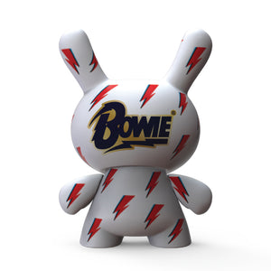 "David Bowie ICON Lightning Bolt 8"" Dunny Art Figure - Kidrobot - Designer Art Toys"