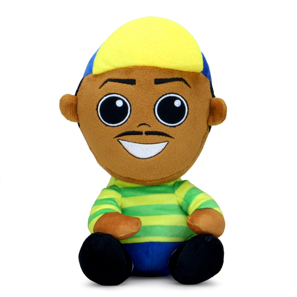 "Fresh Prince of Bel-Air Will Smith 8"" Phunny Plush - Kidrobot - Designer Art Toys"