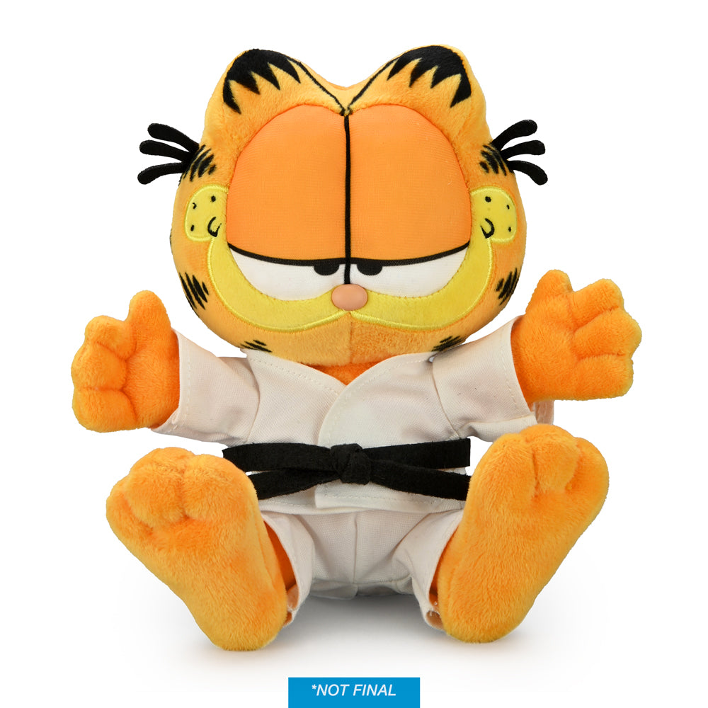 Karate Garfield Elvis GI Medium Plush by Kidrobot (PRE-ORDER) - Kidrobot