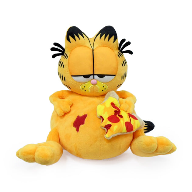 "Garfield Overstuffed Pizza 13"" Medium Plush by Kidrobot (PRE-ORDER) - Kidrobot"