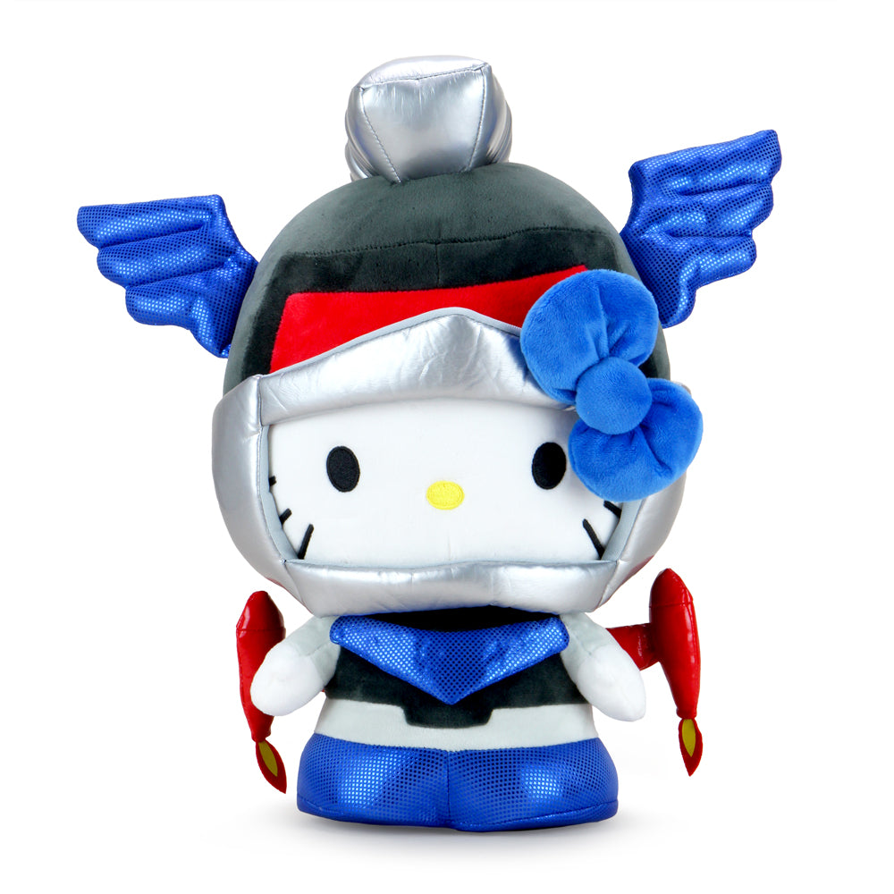 Hello Kitty Cosplay Kaiju Mechazoar Plush - Mechazoar Knight Edition - Kidrobot - Designer Art Toys