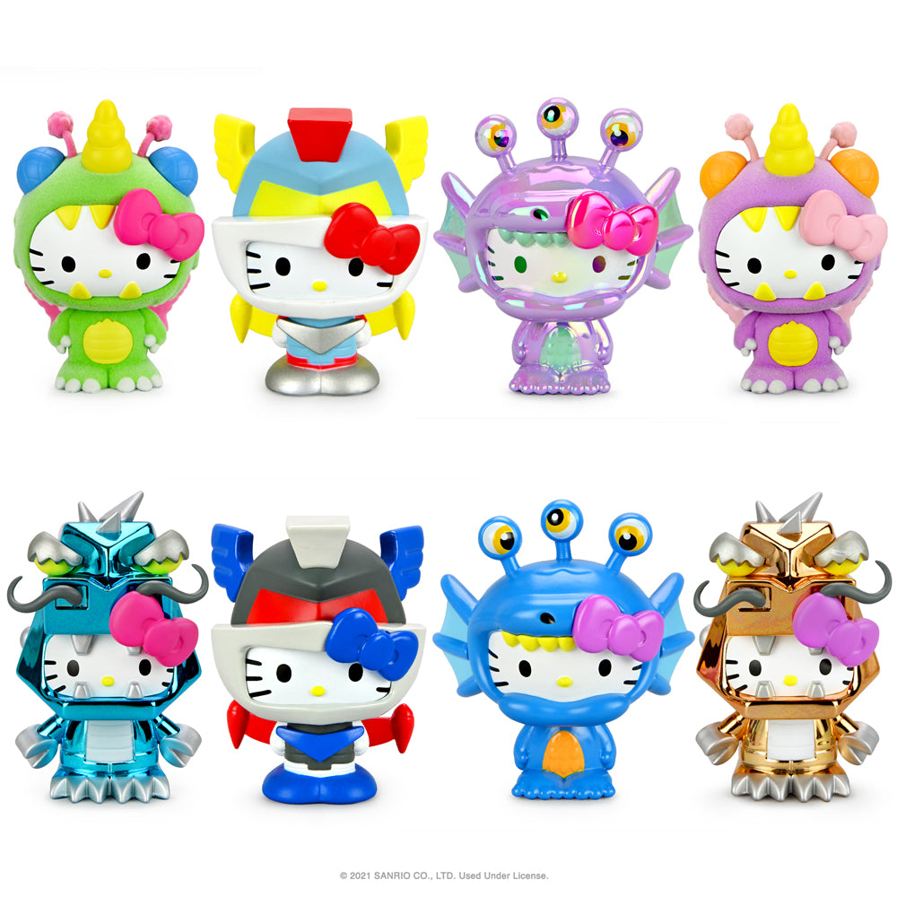 "Hello Kitty® Kaiju 3"" Collectible Vinyl Figures by Kidrobot - Kidrobot"