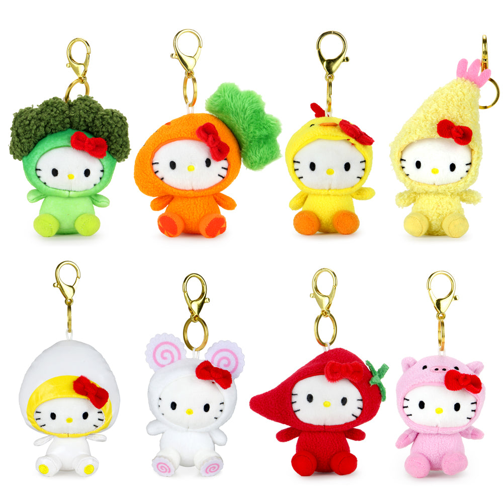 Cup Noodles x Hello Kitty® Plush Charms (PRE-ORDER) - Kidrobot - Designer Art Toys