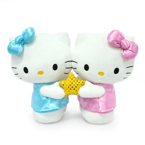 Kidrobot Hello Kitty® Zodiac Medium Plush - GEMINI Edition (PRE-ORDER) - Kidrobot - Designer Art Toys