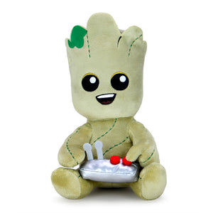 Marvel Guardians of the Galaxy Video Gamer Teen Groot Phunny Plush - Kidrobot - Designer Art Toys
