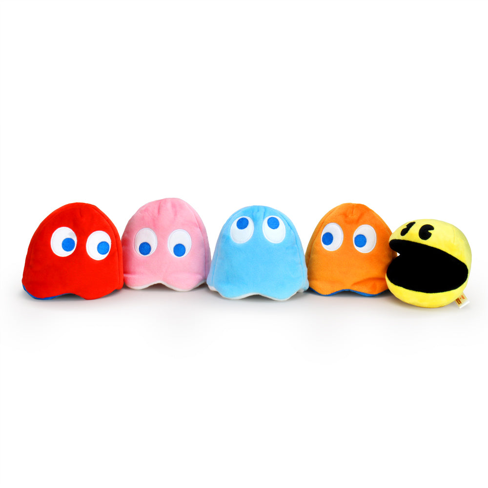 "PAC-MAN Small Collectible 4"" Interactive Plush - Kidrobot - Designer Art Toys"