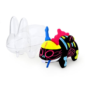 "The Visible Labbit 7"" Art Toy by Frank Kozik - Kidrobot Exclusive Neon Edition (PRE-ORDER) - Kidrobot"