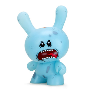 "Rick and Morty Mr. Meeseeks 8"" Dunny - NYCC Exclusive Diseased GID Edition (PRE-ORDER) - Kidrobot - Designer Art Toys"
