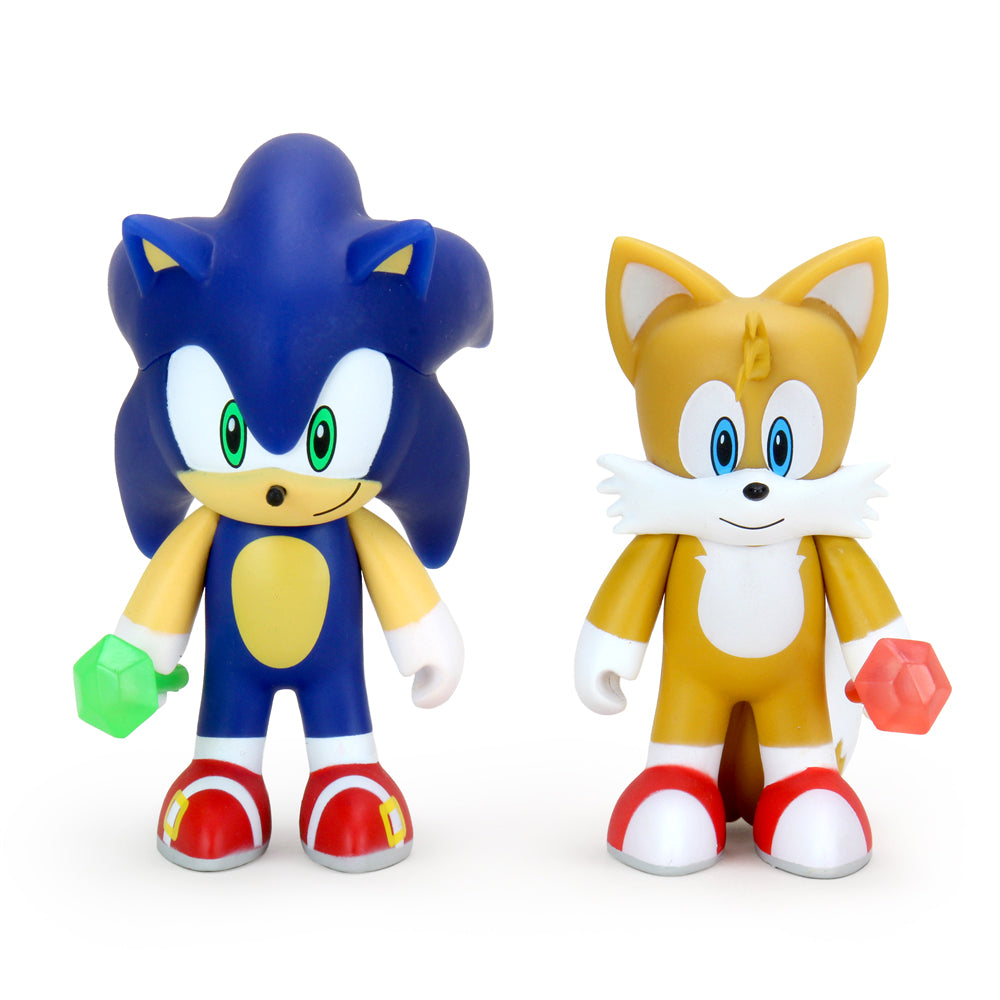 "Sonic the Hedgehog 3"" Vinyl Figure Sonic and Tails 2-Pack (PRE-ORDER) - Kidrobot - Designer Art Toys"