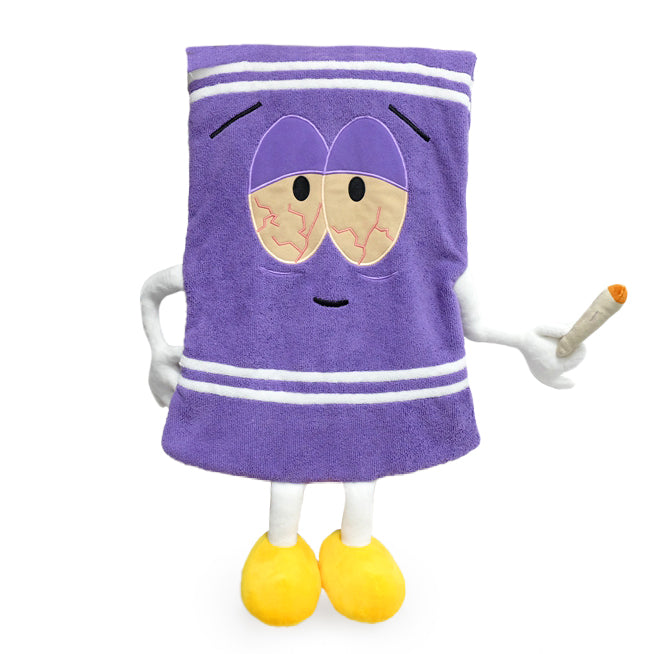 "South Park Stoned Towelie 24"" Real Towel by Kidrobot (PRE-ORDER) - Kidrobot - Designer Art Toys"