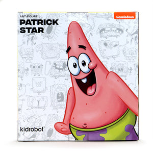 SpongeBob SquarePants Patrick Sea Star Art Figure - GID Stars Edition - Kidrobot - Designer Art Toys