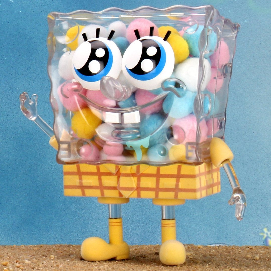 "SpongeBob SquarePants 8"" Art Figure - Ice Cream Edition - Kidrobot"