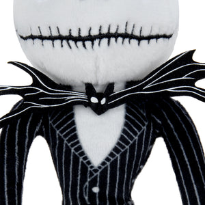 "The Nightmare Before Christmas Jack Skellington 10"" Phunny Plush"