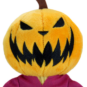 "Nightmare Before Christmas Jack Skellington ""Pumpkin King"" Phunny Plush"