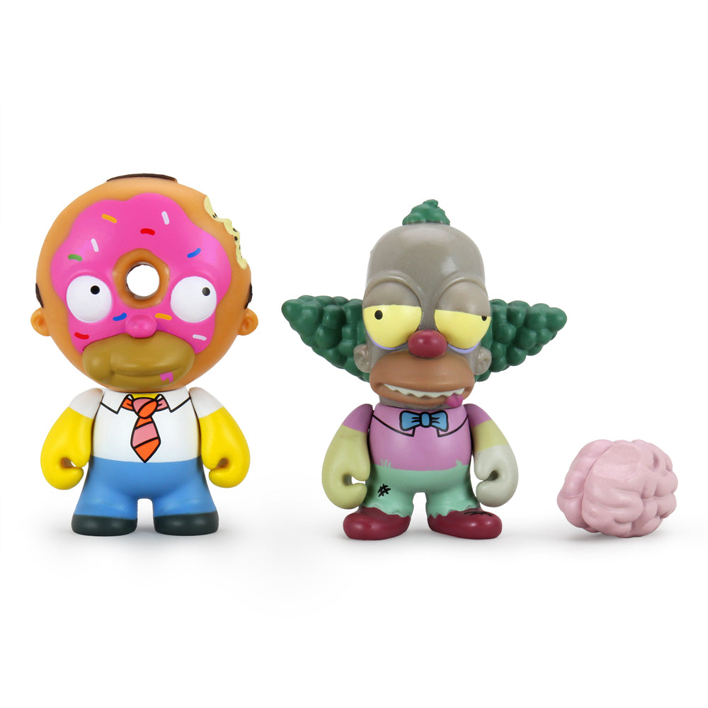Simpsons Treehouse of Horror 2-Pack Mini Figure Set - Kidrobot - Designer Art Toys