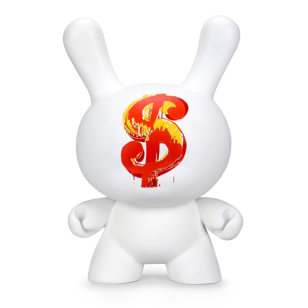 "Andy Warhol 20"" Dollar Sign 1982 Dunny Sculpture by Kidrobot - Kidrobot - Designer Art Toys"