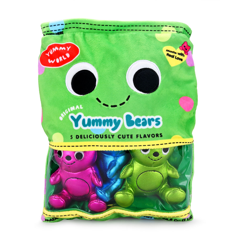 "Yummy World Yummy Bears 10"" Interactive Plush by Kidrobot (PRE-ORDER) - Kidrobot"