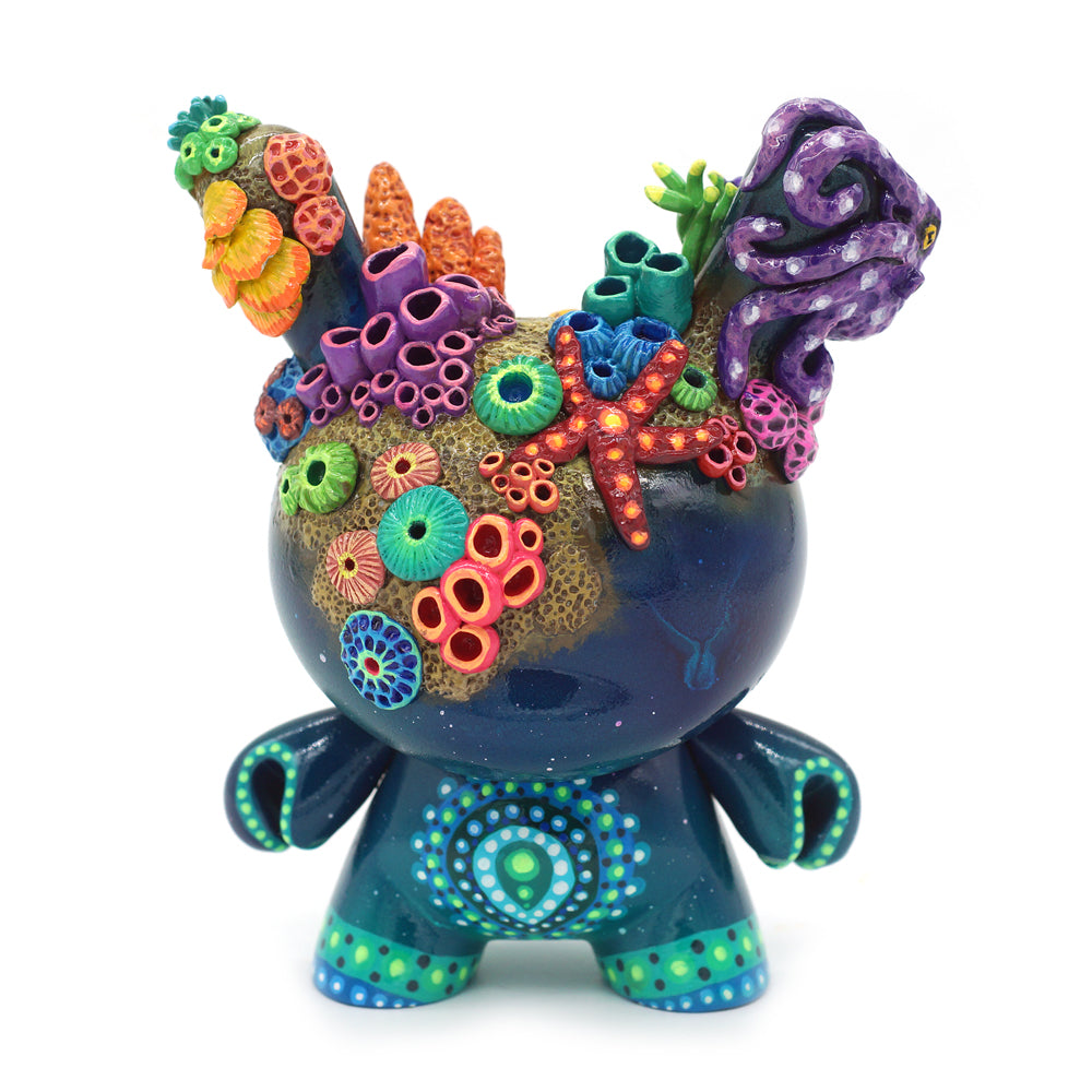 "No. 07 - The Octopus 5"" Custom Dunny by MP Gautheron - Series 4"